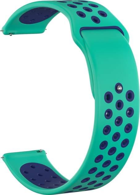 Ремешок для часов GSMIN Sport Edition 22 для GearS3/GalaxyWatch(46mm) Бирюзово-синий