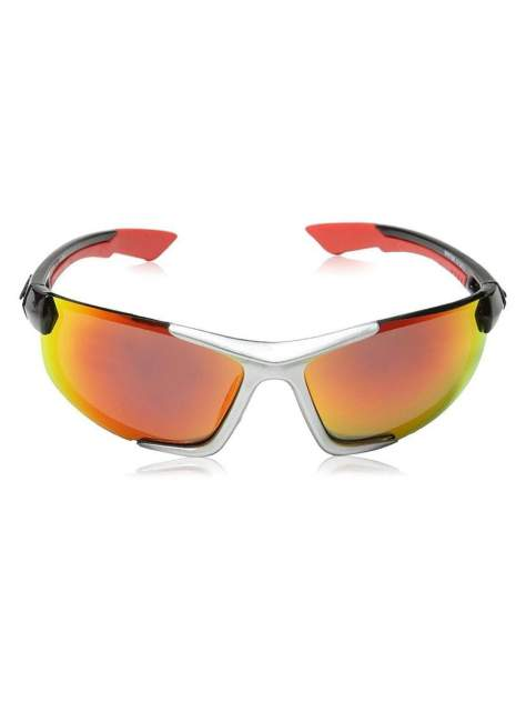 Солнцезащитные поляризационные очки для рыбалки EYELEVEL Maritime зеркально-красный