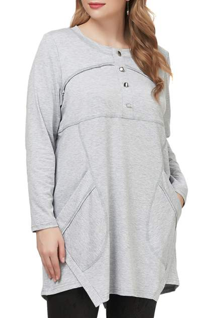 Блуза женская OLSI 2006002_2 серая 66