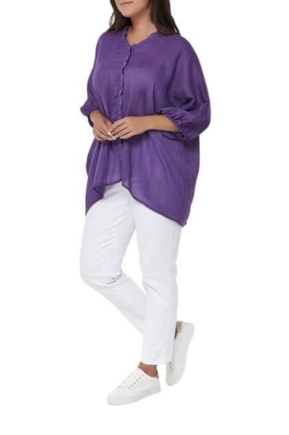 Блуза женская OLSI 2010009_6 фиолетовая 56