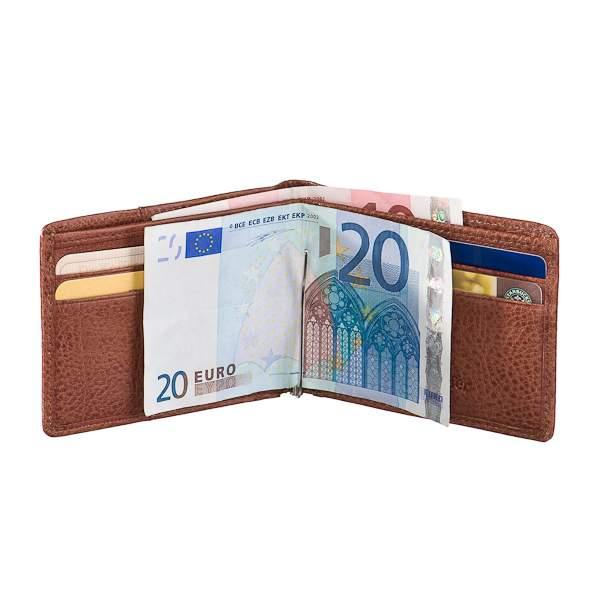 Зажим для денег мужской Dr.Koffer X510331-02 коричневый