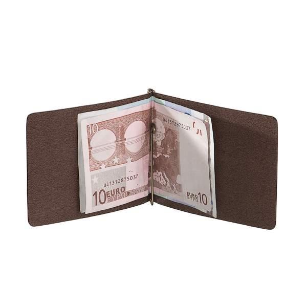 Зажим для денег мужской Dr.Koffer X510339-107 коричневый