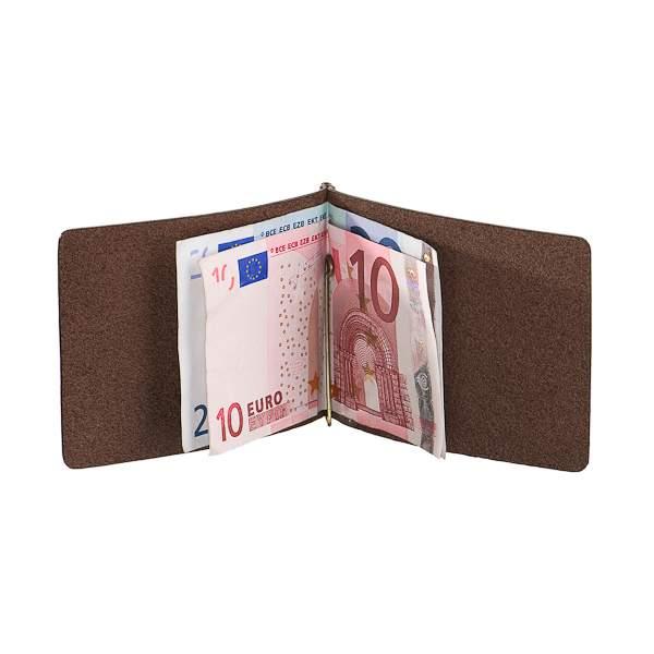 Зажим для денег мужской Dr.Koffer X510339-108 коричневый