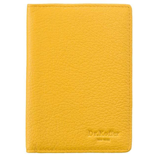 Обложка для паспорта Dr.Koffer X510130-170 желтая