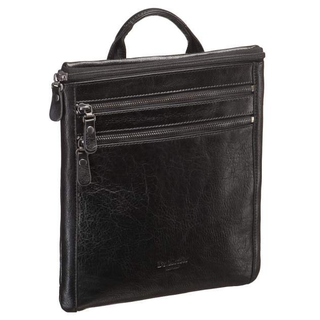 Сумка-папка для документов мужская Dr.Koffer M402542-02 черная