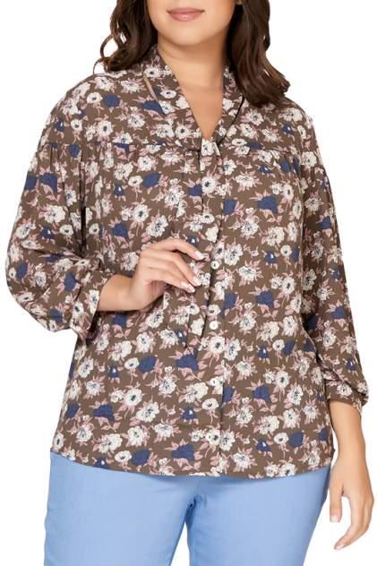 Блуза женская OLSI 1810034_3 зеленая 56