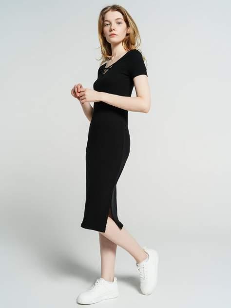 Платье-футболка женское ТВОЕ 78688 черные M