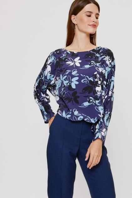 Блуза женская Vittoria Vicci 2003-03-6573 синяя 56