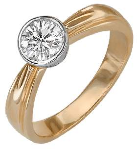 Кольцо женское Платина 01-1054-00-501-1111-38 р.19.5
