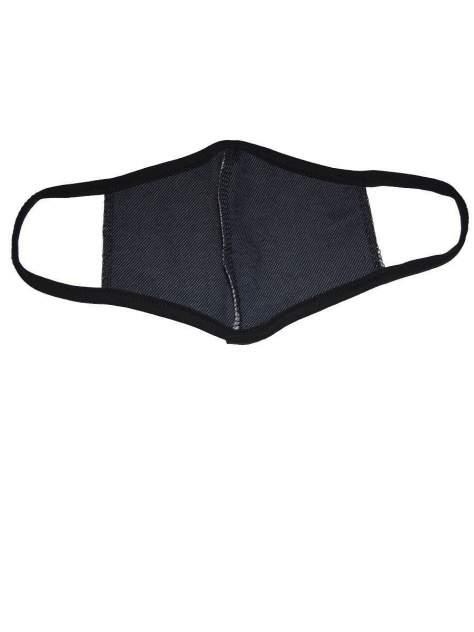 Многоразовая маска TELMI не медицинская, защитная (кулирка, комплект 3 шт) синяя