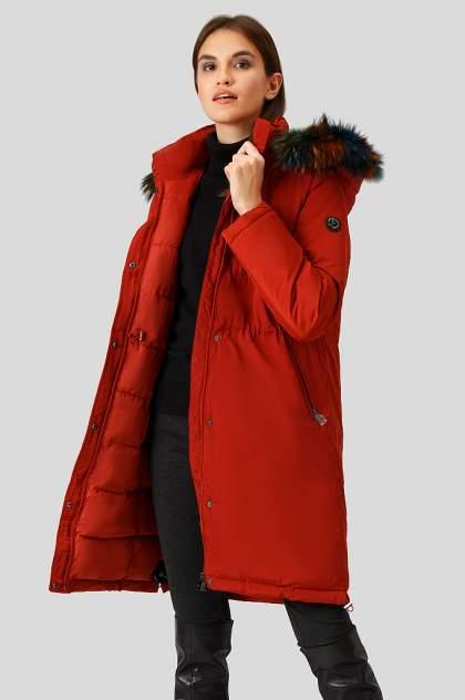 Пуховик-пальто женский Finn Flare W18-12039 красный 2XL