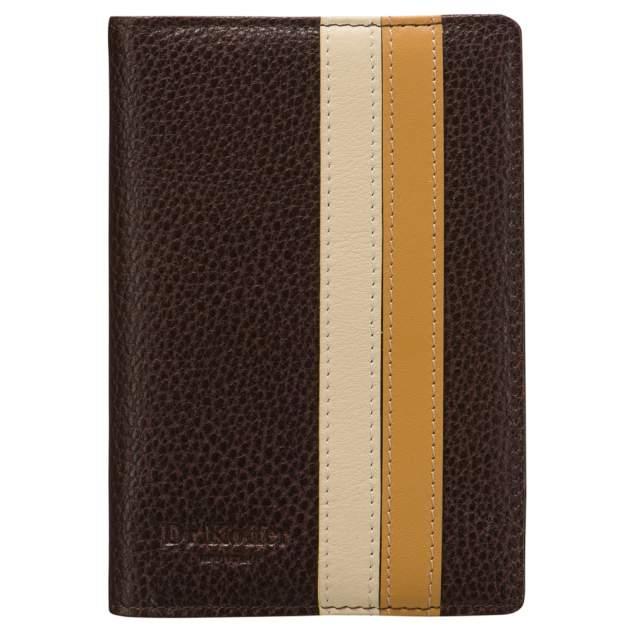 Обложка для паспорта Dr.Koffer X510130-193 коричневая