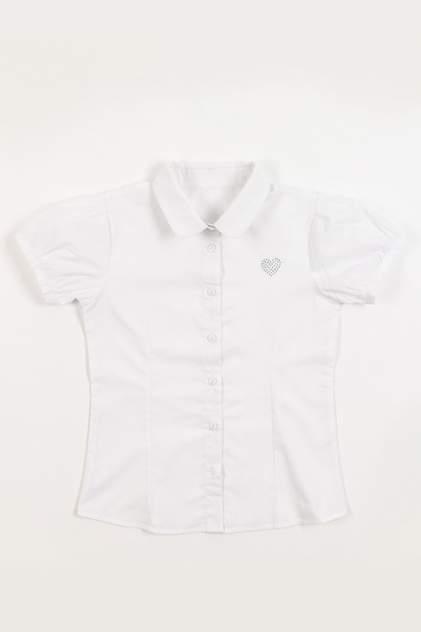 Рубашка MODIS для девочек, цв. белый, р-р 122