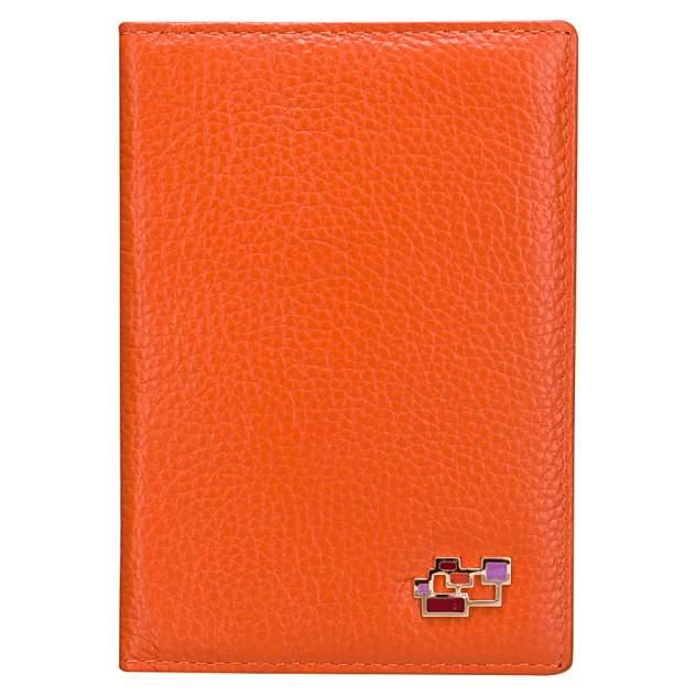 Обложка для паспорта Dr.Koffer X510130-82-58A оранжевая