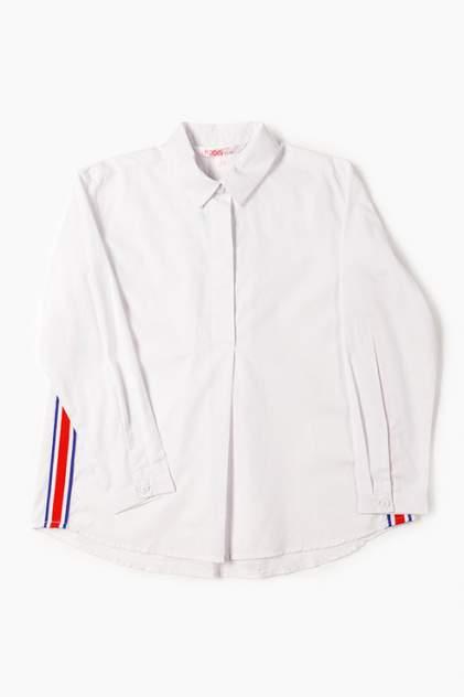 Рубашка MODIS для девочек, цв. белый, р-р 140