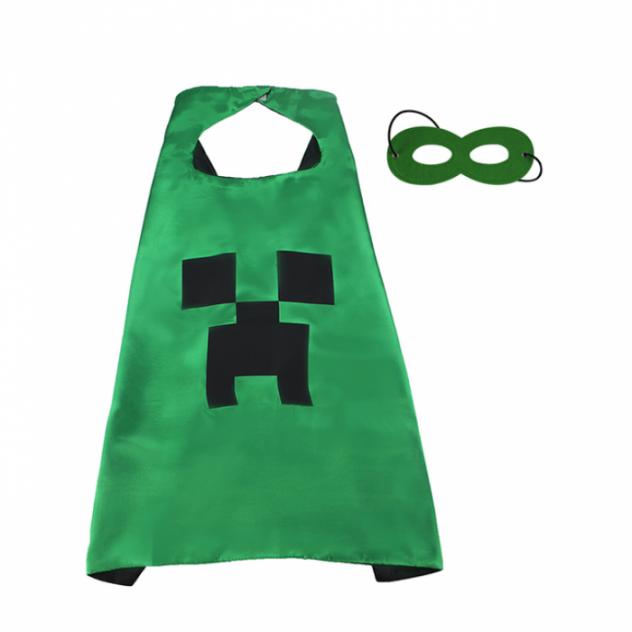 Карнавальный костюм SPECIAL Майнкрафт, цв. зеленый р.OneSize