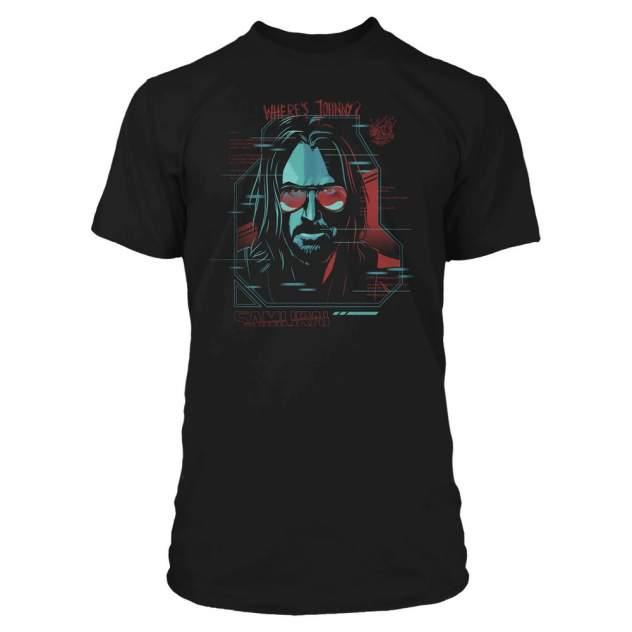 Футболка Jinx Cyberpunk 2077 Digital Ghost Premium, черный