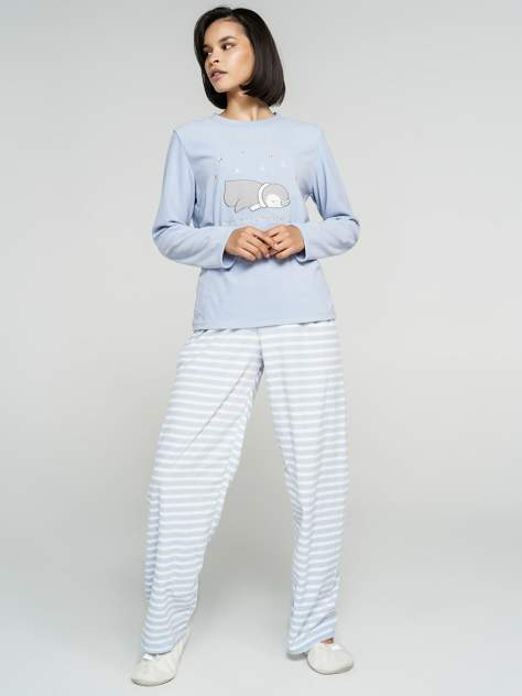 Домашний костюм женский ТВОЕ A7034 голубой L