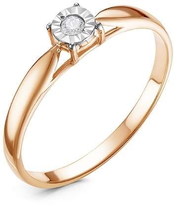 Кольцо женское Diamond Union 5-2471-103 р.17
