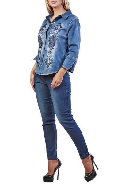 Женская джинсовая рубашка LAFEI-NIER T462253T-F, синий