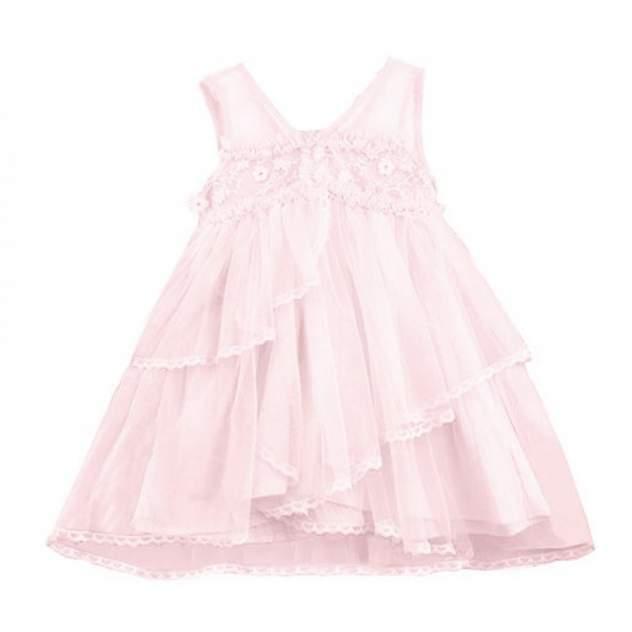Платье детское Monna Rosa, цв.розовый