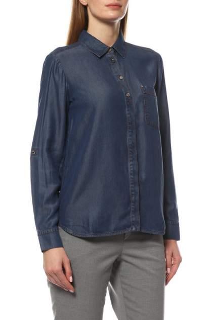 Рубашка женская Pennyblack 31110119 синяя 38 IT