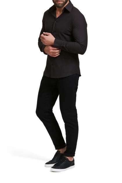 Рубашка мужская Envy Lab R005 черная 2XL