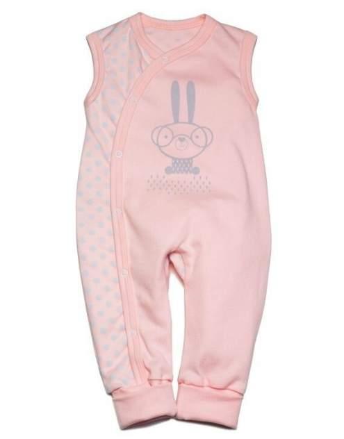 Полукомбинезон Pinito для девочки розовый 22 размер М22