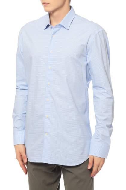 Рубашка мужская Baldessarini 412084780714 голубая 39 DE
