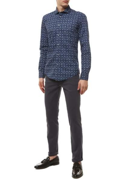 Рубашка мужская BRIAN DALES BS50W ST6960.001 синяя 42 IT