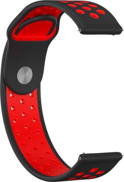 Ремешок для часов GSMIN Sport Edition 22 для GearS3/GalaxyWatch(46mm) Черно-красный