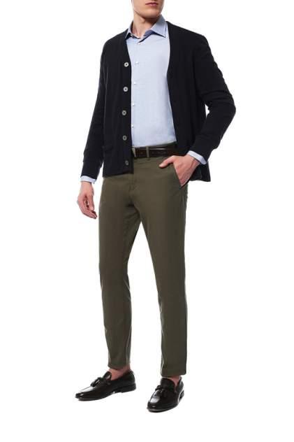 Рубашка мужская Windsor 10004170_420_30007170 синяя 43 DE