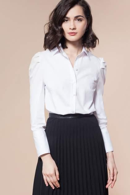 Блуза женская Vilatte D29.683 белая 56