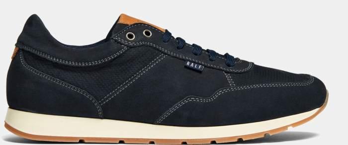 Низкие кроссовки мужские Ralf Ringer 587119 синие 45 RU