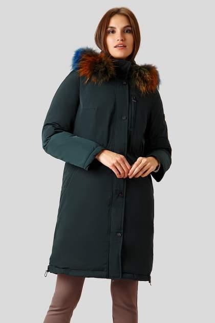 Пуховик-пальто женский Finn Flare W18-12039 зеленый 2XL