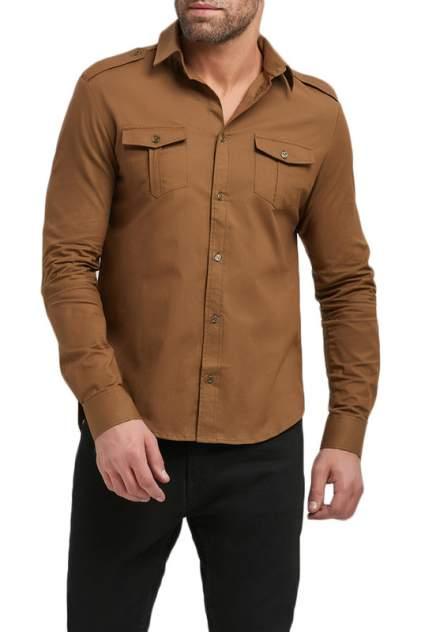 Рубашка мужская Envy Lab R23/ХАКИ коричневая 3XL