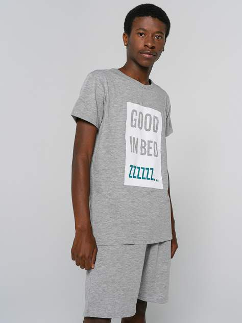 Мужские домашние пижама ТВОЕ 81268, серый