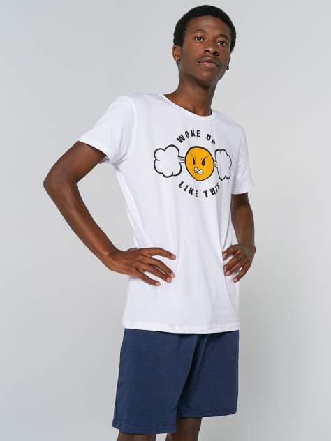 Мужские домашние пижама ТВОЕ 81269, белый