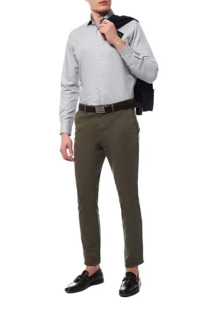 Рубашка мужская Windsor 10004177_035_30007179 серая 43 DE