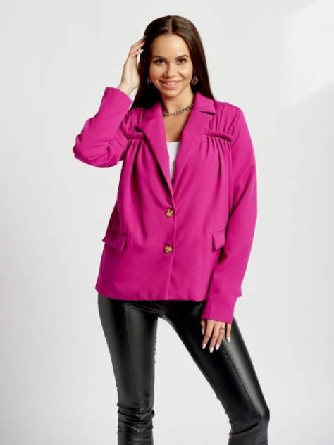 Пиджак женский DAZZLE STYLE Вита розовый 42 RU