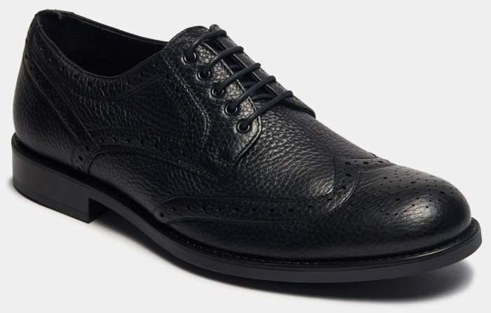 Туфли мужские Ralf Ringer 373122 черные 47 RU