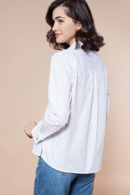 Блуза женская Vilatte D29.682 белая 56