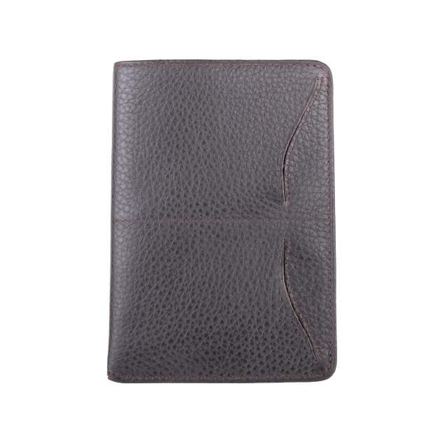 Обложка для паспорта унисекс DOMENICO MORELLI L0805 коричневая