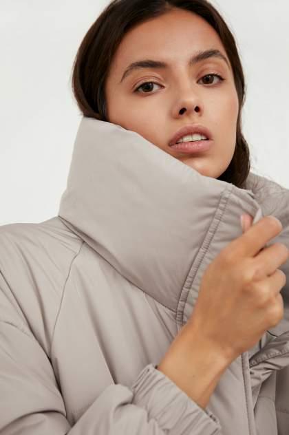 Пуховик-пальто женский Finn Flare A20-11078 серый XL