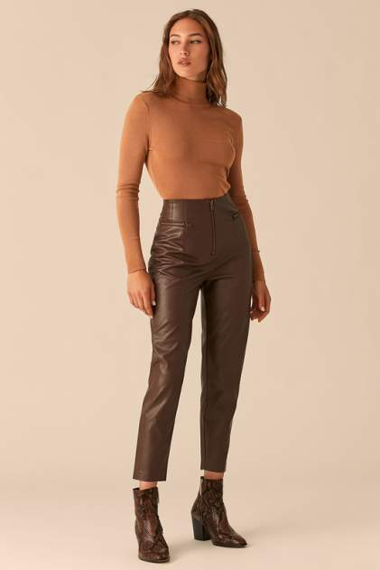 Брюки женские LOVE REPUBLIC 450212708 коричневые 42