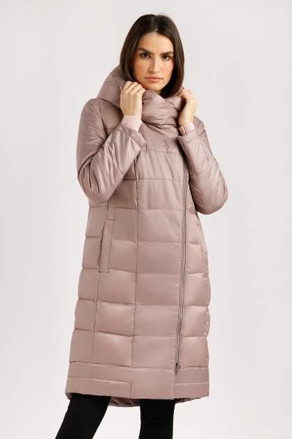 Пуховик-пальто женский Finn Flare B20-12022 бежевый 2XL