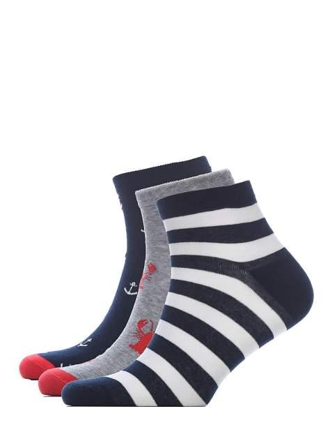 Набор носков мужских Modis M201U00620 разноцветных 39/42