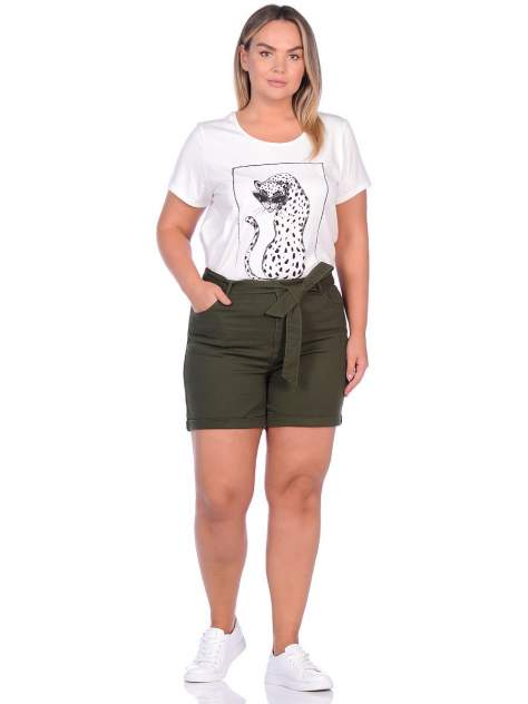 Женские шорты Modis M201W01162, зеленый