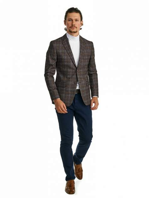 Пиджак мужской Marc De Cler Ps 2190-3822-4-182, коричневый