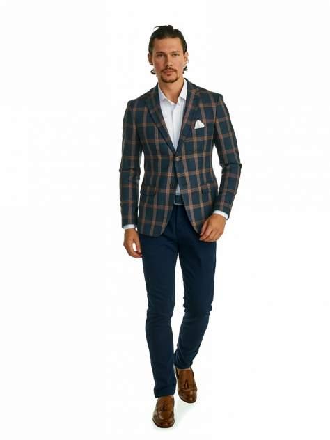 Пиджак мужской Marc De Cler Ps 2190-1839-6-182, коричневый, серый
